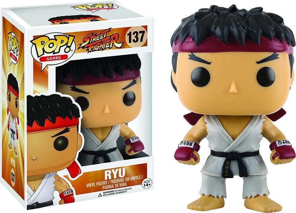 POP STREET FIGHTER RYU VINYL FIGURE