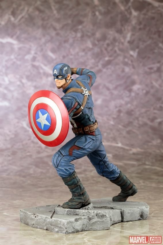 CAPTAIN AMERICA: CIVIL WAR MOVIE CAPTAIN AMERICA ARTFX+