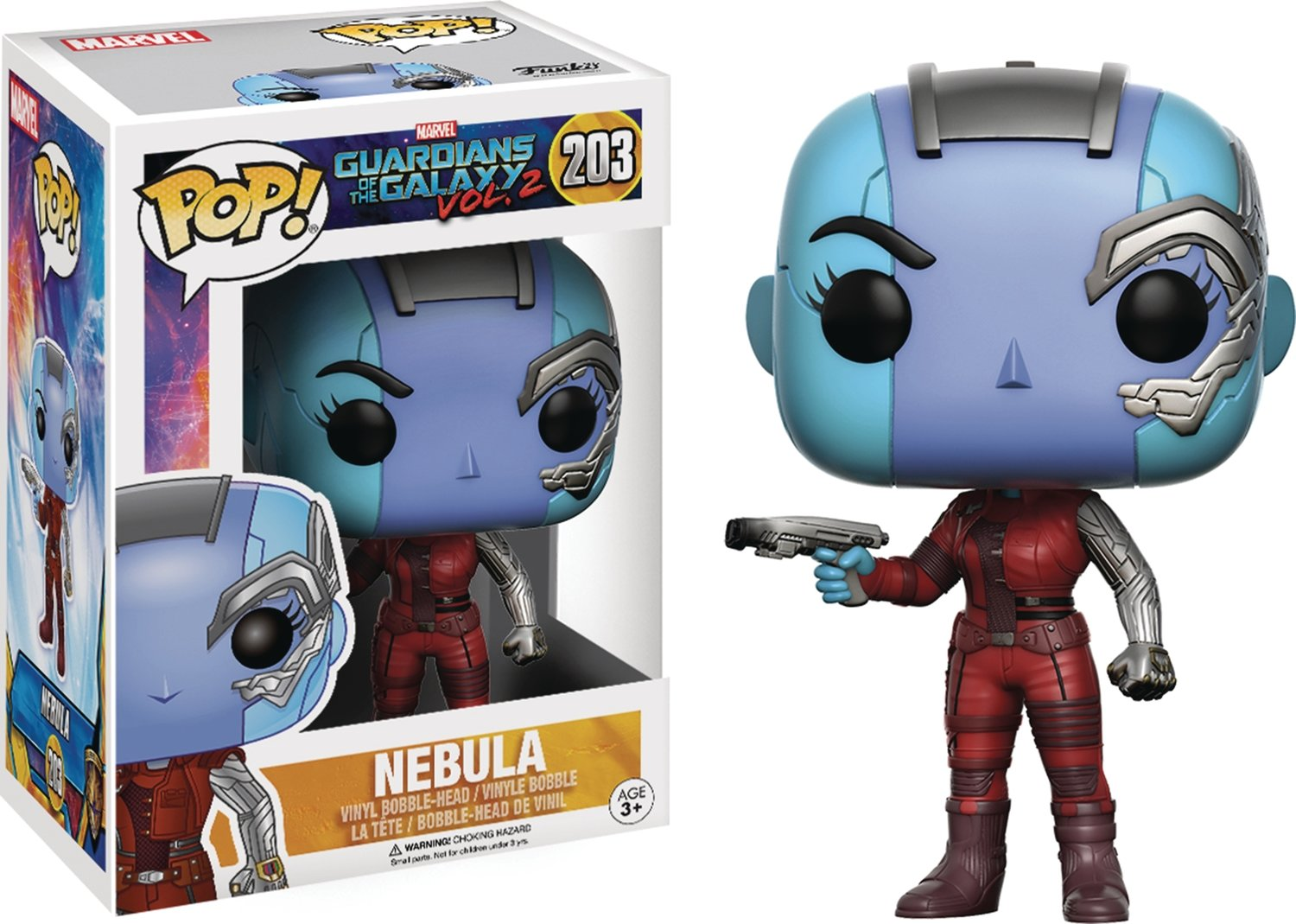 POP GUARDIANS OF THE GALAXY VOL2 NEBULA VINYL FIGURE