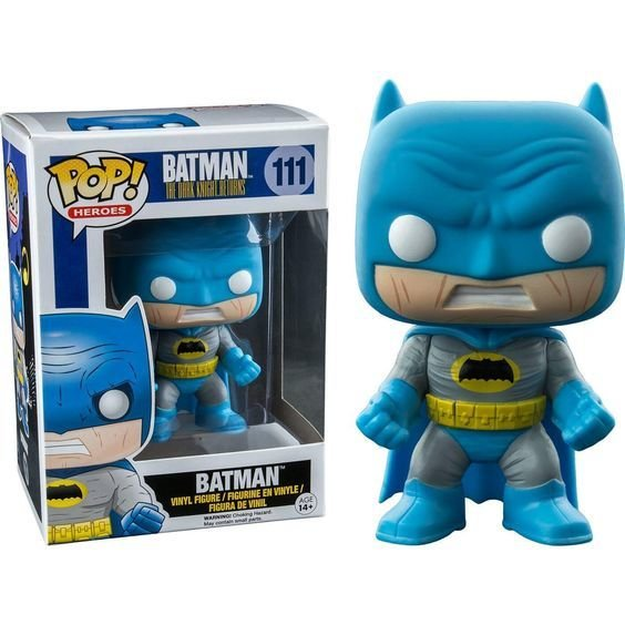 POP DC HEROES DKR BATMAN BLUE PX VINYL FIGURE