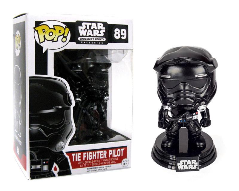 Funko Pop Star Wars Tie Fighter Pilot Smuggler Bounty Exclusive