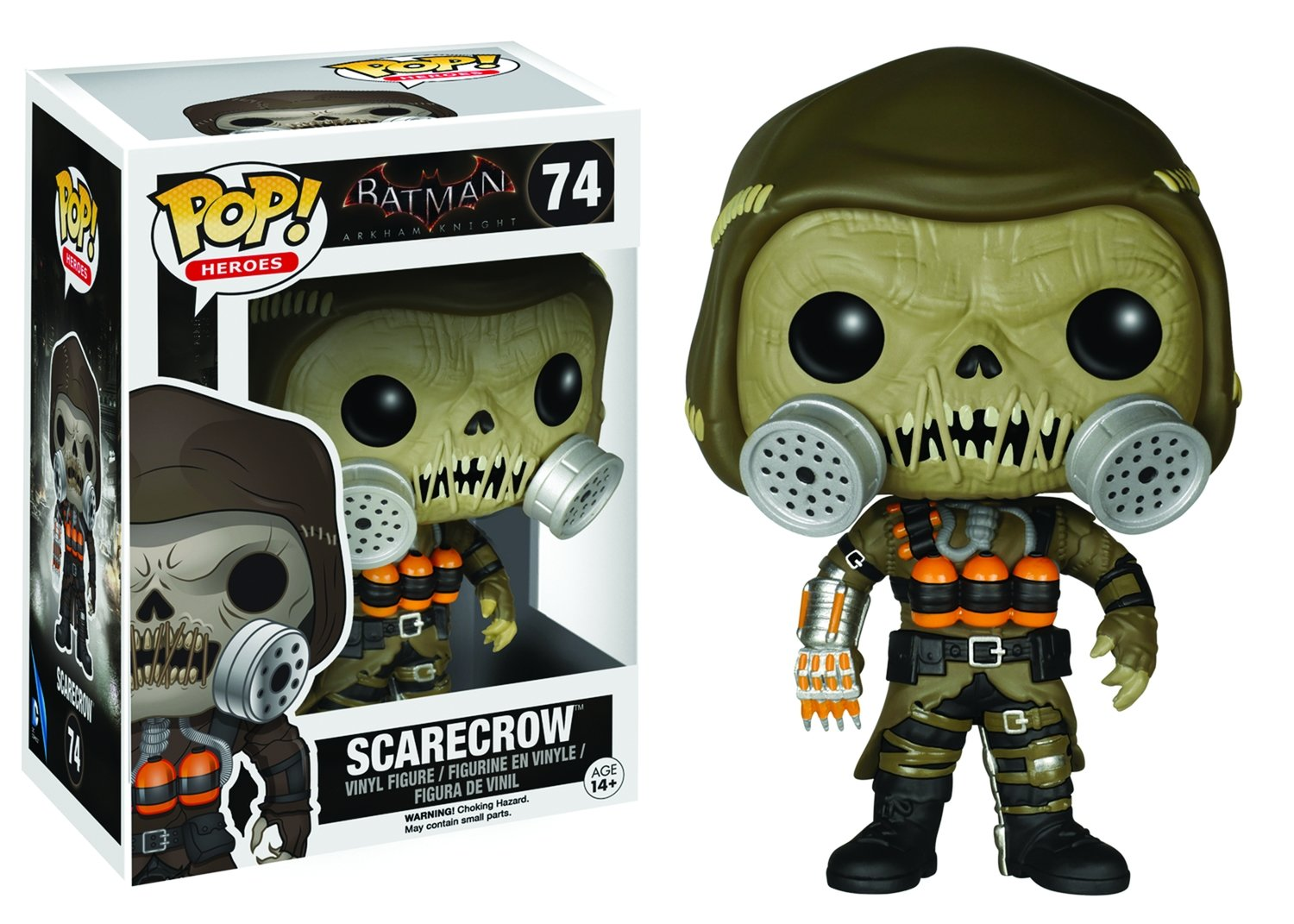 POP ARKHAM KNIGHT SCARECROW VINYL FIGURE