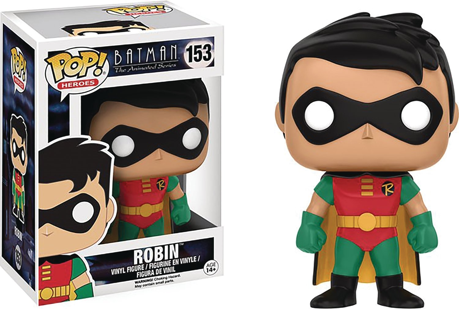 POP BTAS ROBIN VINYL FIGURE