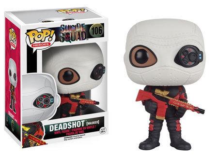 Pop Vinyl Heroes  Deadshot (Masked)
