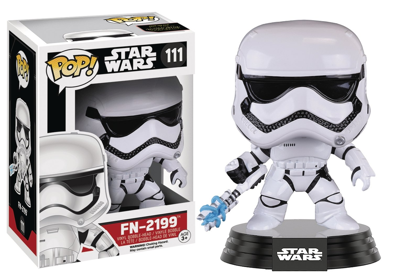 POP STAR WARS E7 FN-2199 TROOPER VINYL FIGURE
