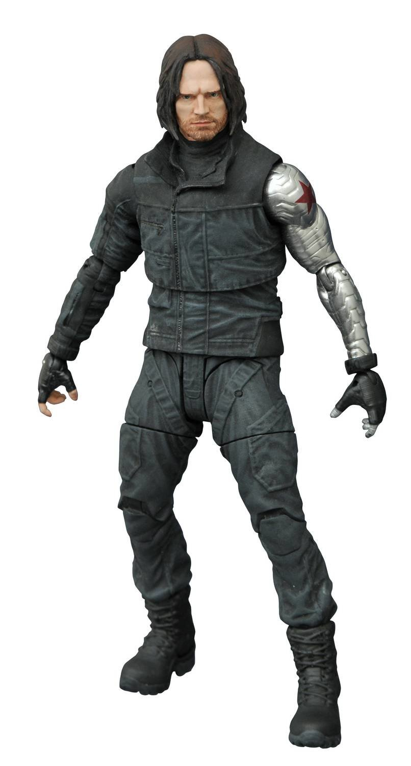 MARVEL SELECT CAP AMER 3 WINTER SOLDIER AF