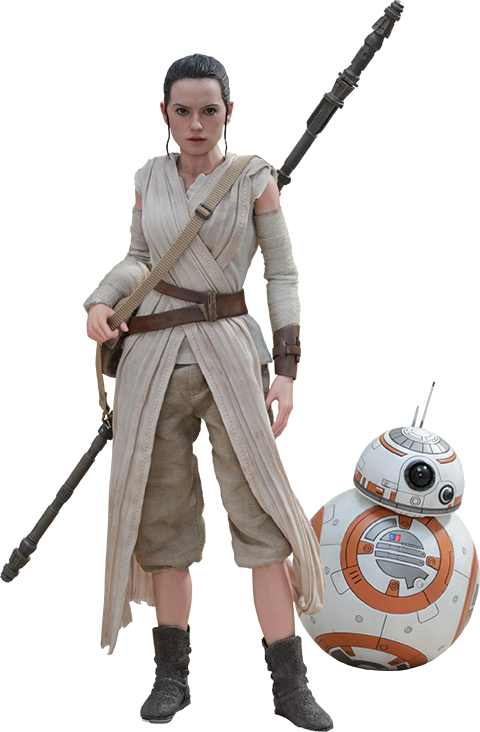 STAR WARS Rey and BB-8