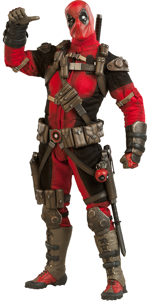 Deadpool Sixth Scale Figure by Sideshow Collectibles