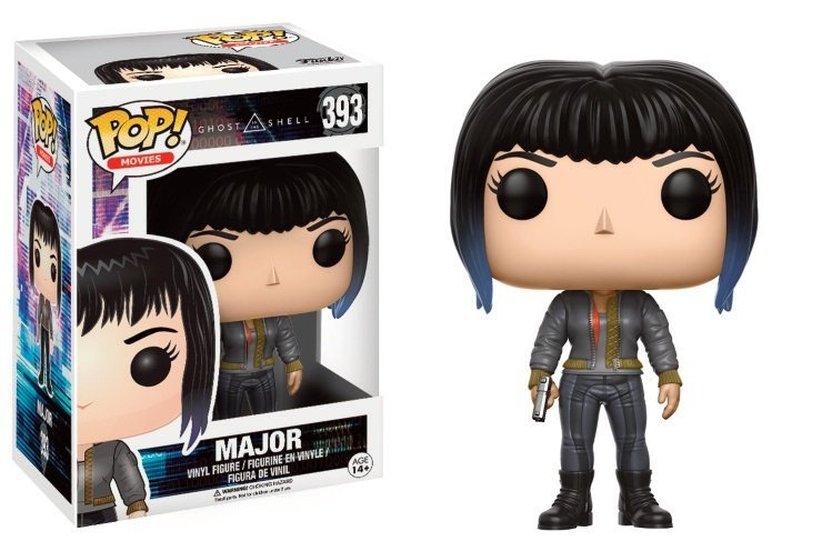 Pop! Movies: Ghost in The Shell - Major in Bomber Jacket LE