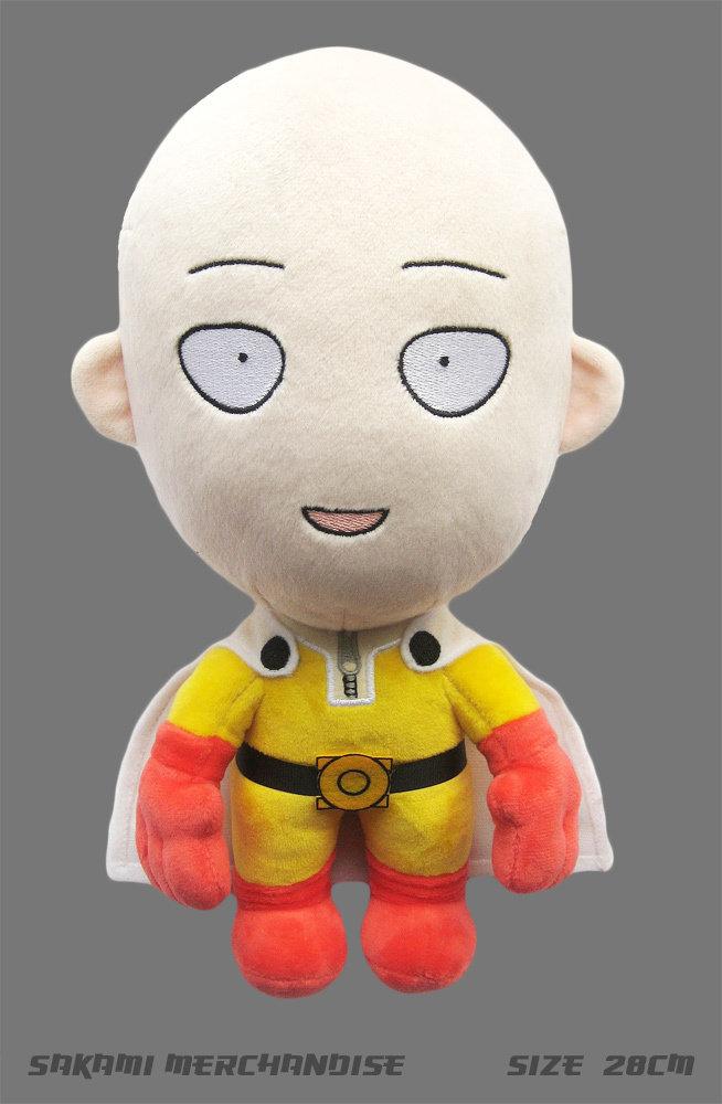 One Punch Man: Happy Saitama Plush Figure