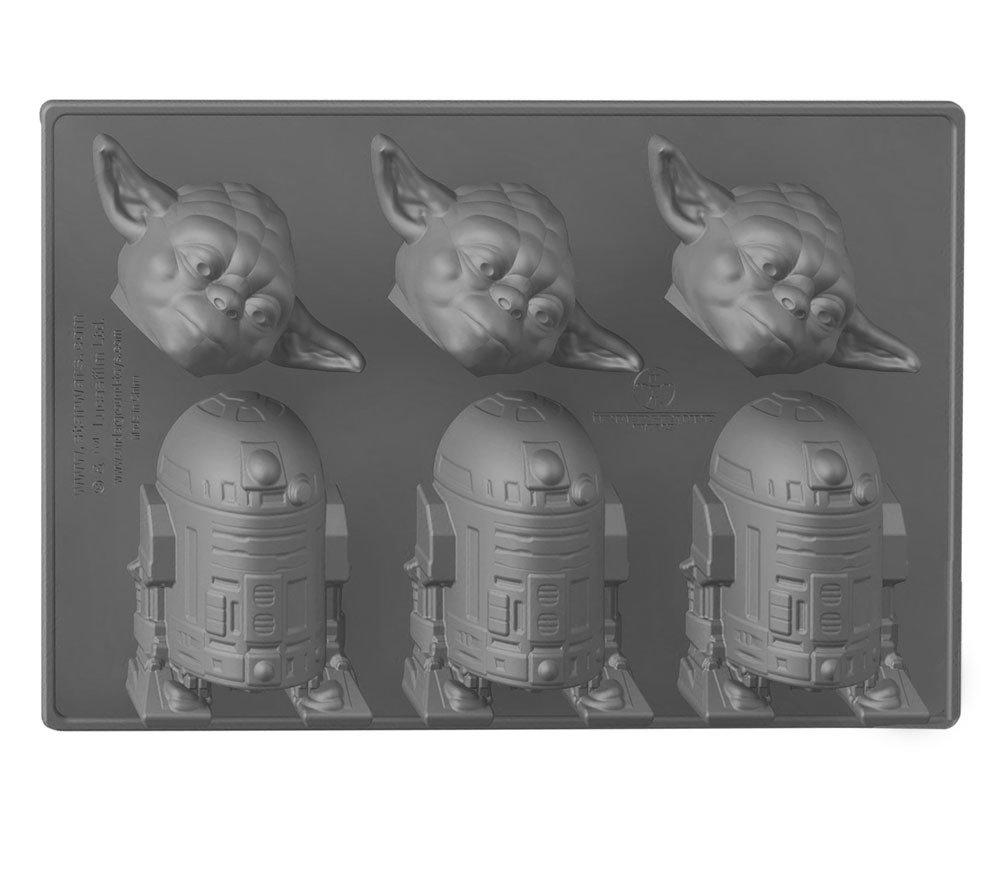 Star Wars Ice Cube Tray Yoda & R2-D2