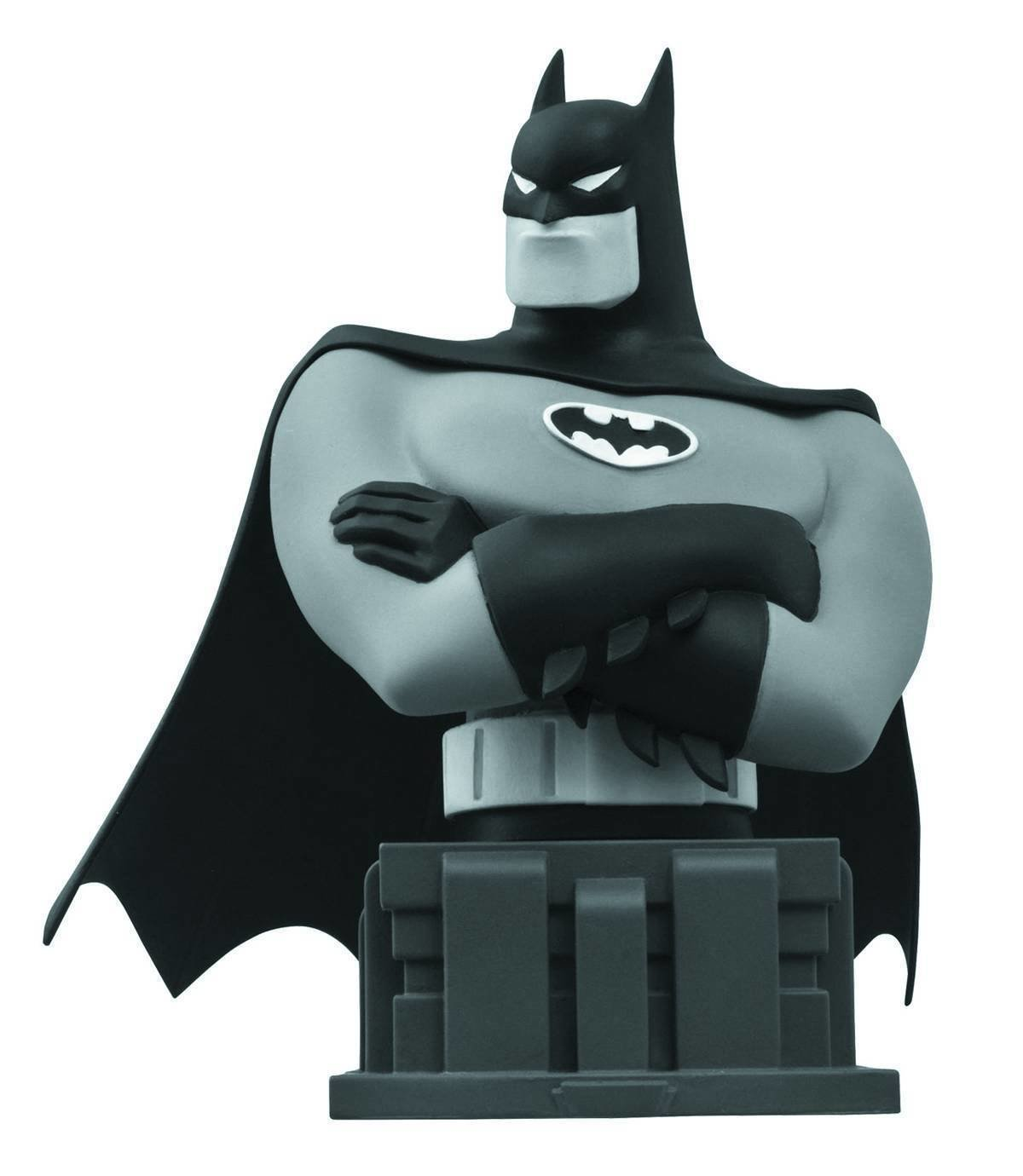 SDCC 2015 BATMAN ANIMATED LIMITED EDITION BATMAN B&W BUST