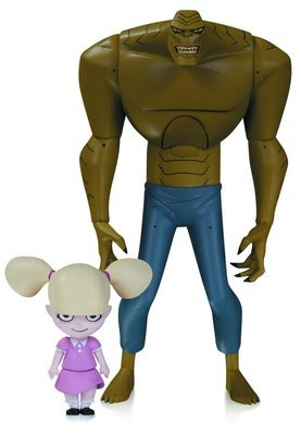 BATMAN ANIMATED SERIES KILLER CROC W BABY DOLL AF