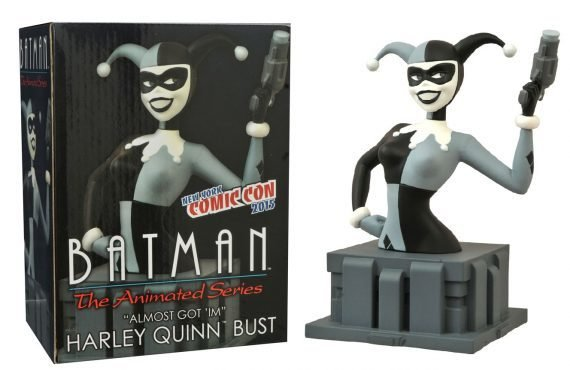 BATMAN THE ANIMATED SERIES ALMOST GOT 'IM HARLEY QUINN BUST NY COMIC CON 2015
