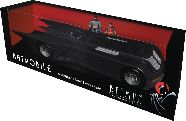 BATMAN TAS BATMOBILE W BENDABLE FIGURES