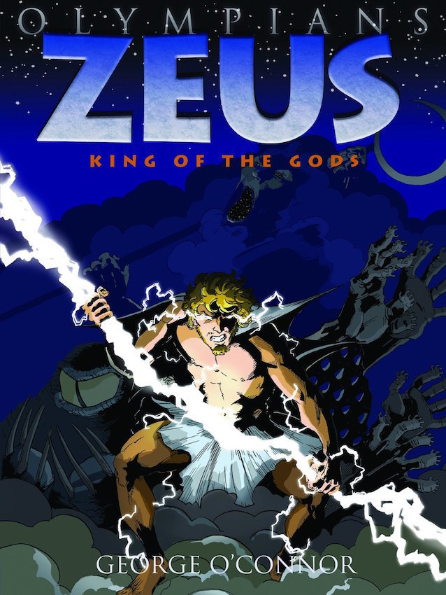 OLYMPIANS GN VOL 01 ZEUS KING OF THE GODS