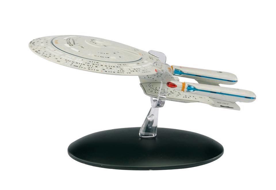 STAR TREK STARSHIPS FIG MAG #1 USS ENTERPRISE NCC-1701D (Reissue)
