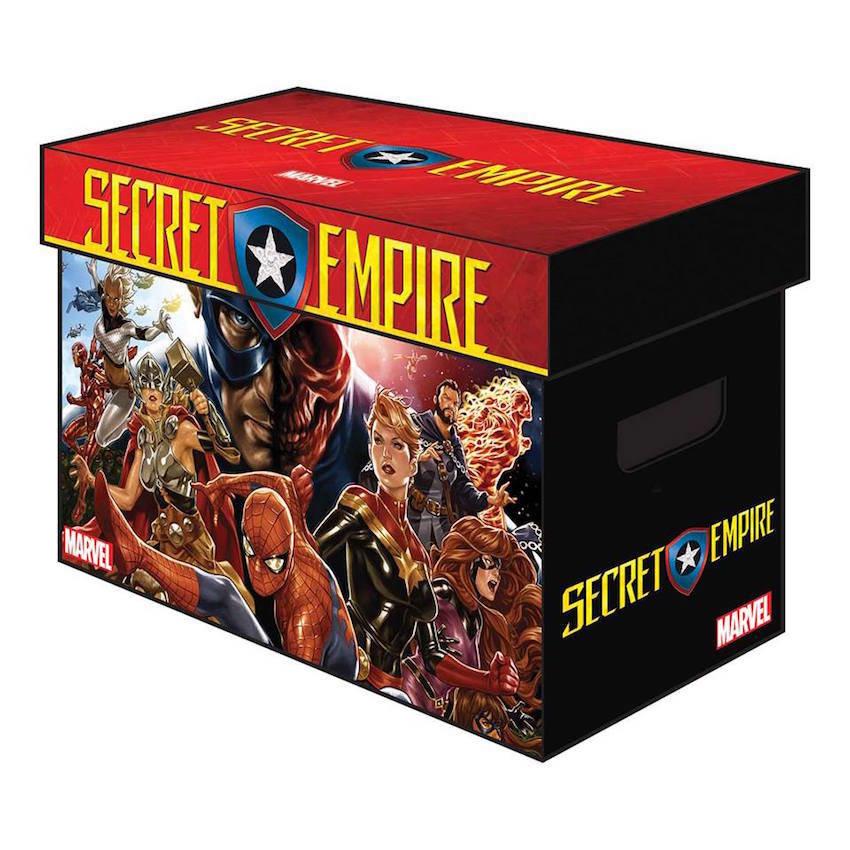 MARVEL GRAPHIC COMIC BOX  SECRET EMPIRE