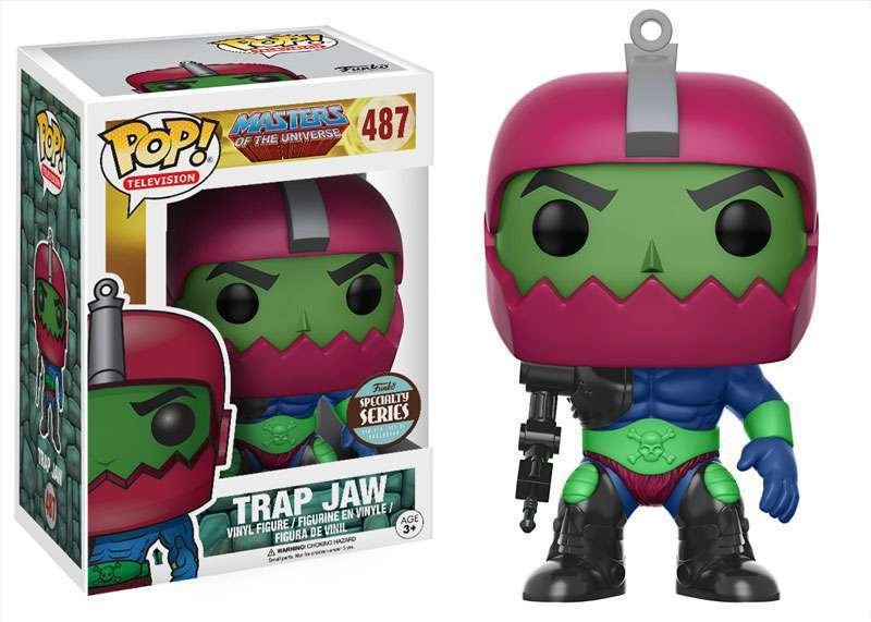 Funko POP! TV Masters of the Universe Trap Jaw Exclusive Vinyl Figure #487