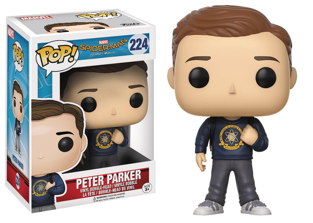 POP SPIDER-MAN HOMECOMING PETER PARKER VINYL FIGURE