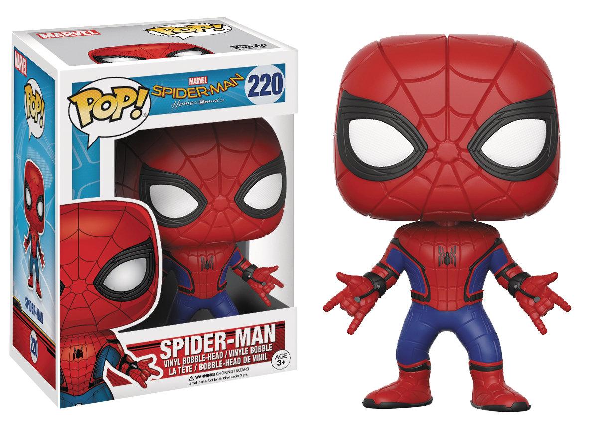 POP SPIDER-MAN HOMECOMING SPIDER-MAN VINYL FIGURE