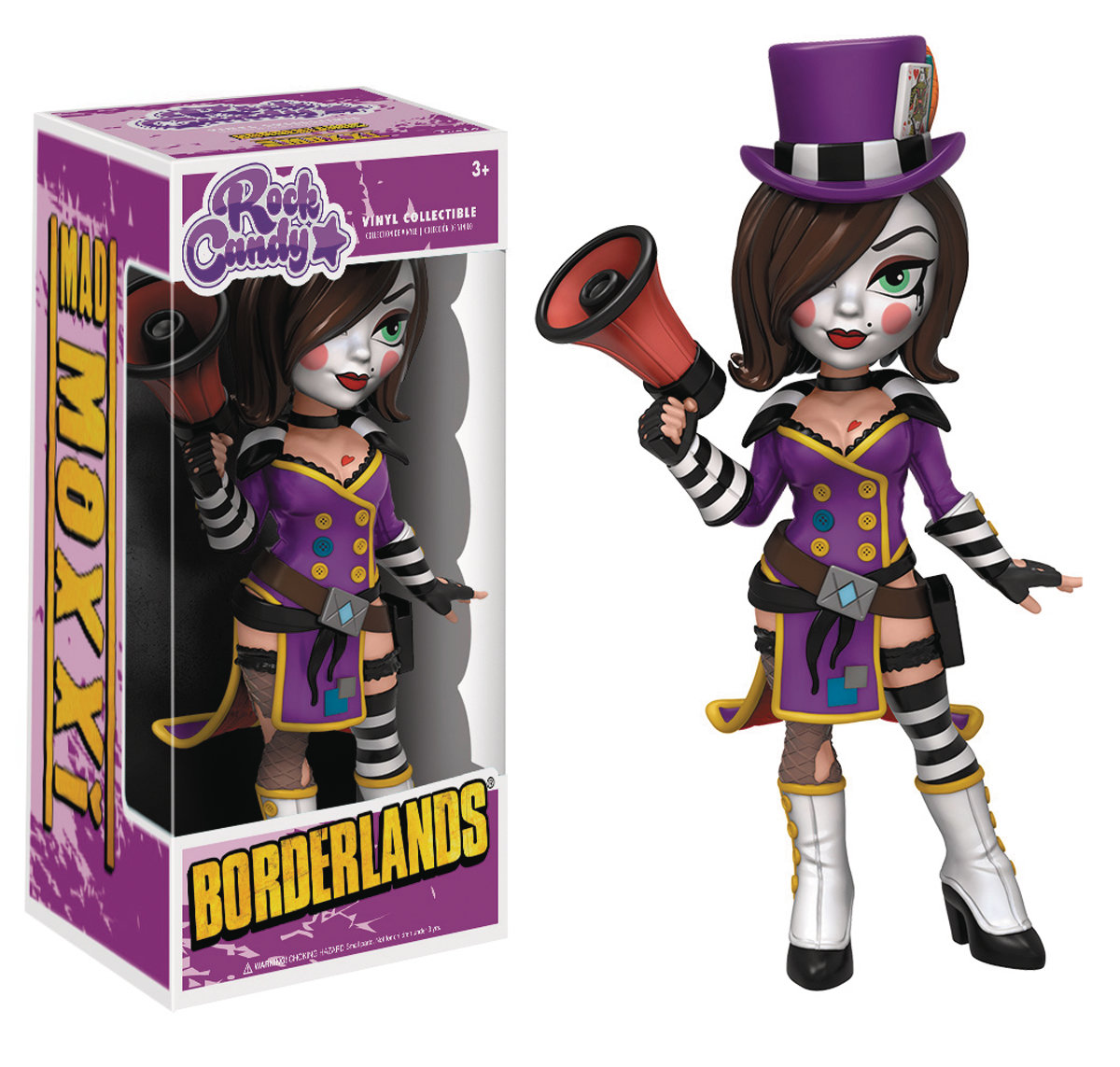 ROCK CANDY BORDERLANDS MAD MOXXI FIGURE