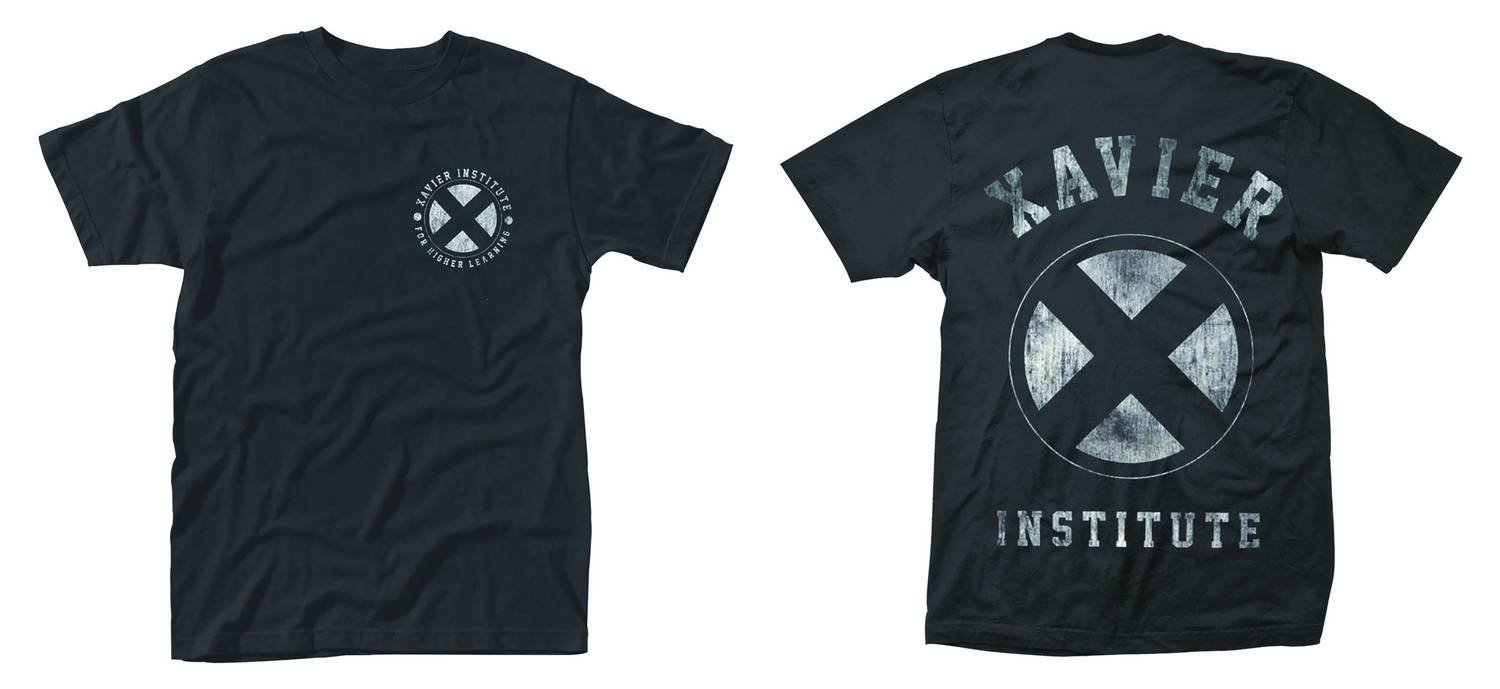 MARVEL X-MEN XAVIER INSTITUTE DISTRESSED T-shirt