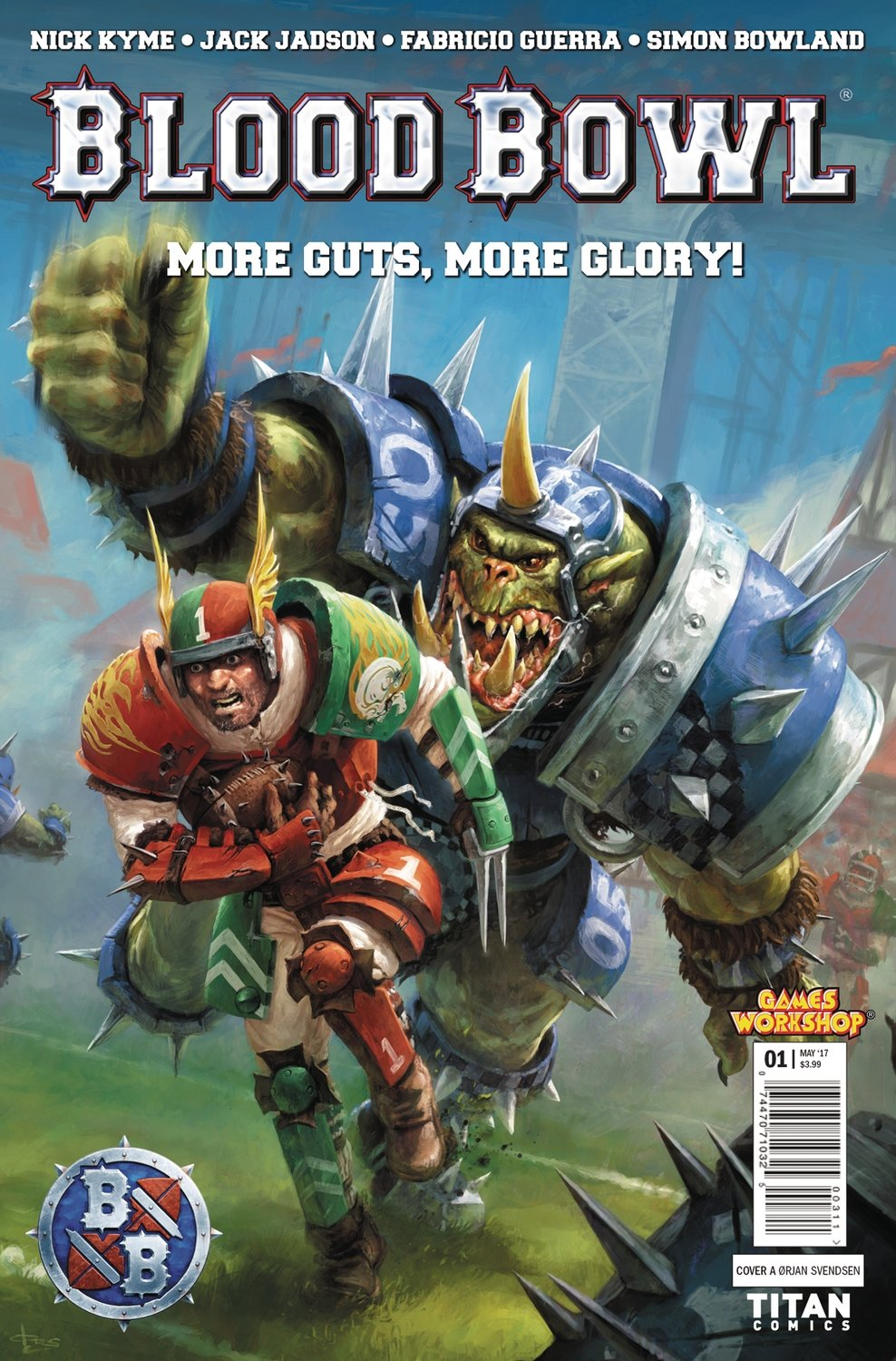 BLOOD BOWL MORE GUTS MORE GLORY #1 (OF 4)