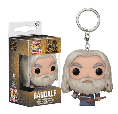 POCKET POP LORD OF THE RINGS GANDALF FIG KEYCHAIN