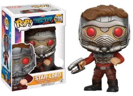 Pop! Marvel: GotG 2 - Star-Lord in Mask LIMITED EDITION