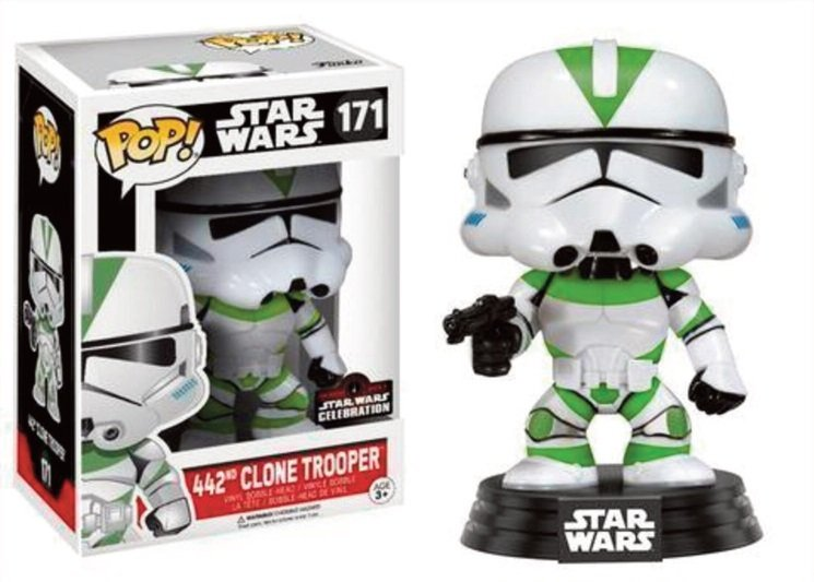 Pop! Star Wars: Celebration 2017 - 442 Clone Trooper LIMITED EDITION