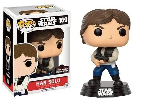 Pop! Star Wars: Celebration 2017 - Han Solo Action Pose LIMITED EDITION
