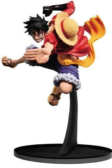 One Piece SCultures Figure Big Zoukeio 6 Monkey D. Luffy 8 cm