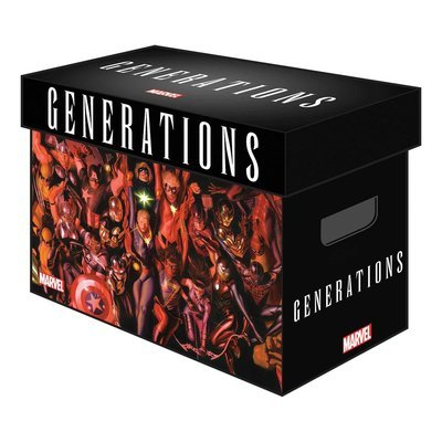 MARVEL GRAPHIC COMIC BOXES GENERATIONS