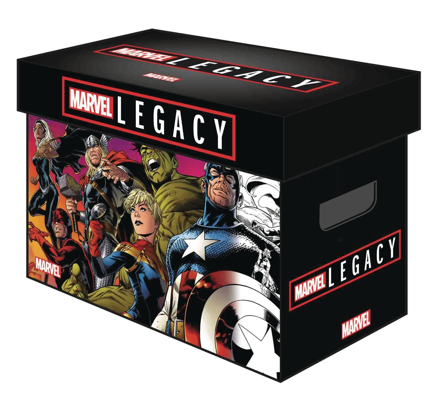 MARVEL GRAPHIC COMIC BOXES MARVEL LEGACY