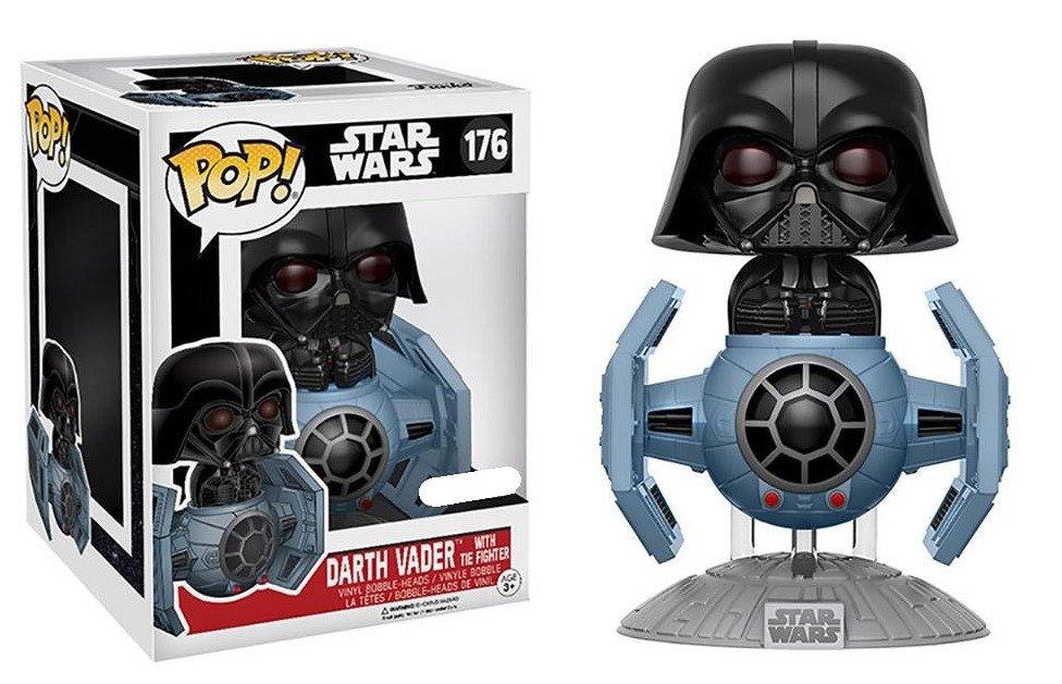 Pop Star Wars Darth Vader with TIE Fighter