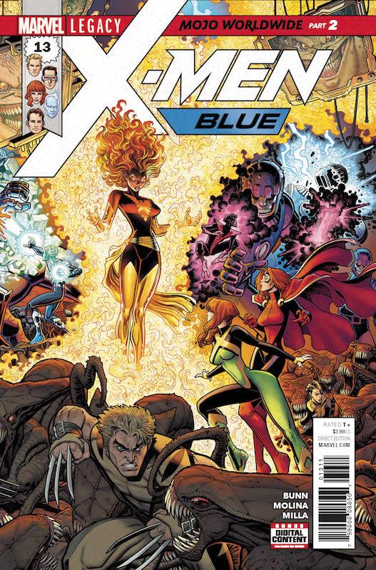 X-MEN BLUE #13 LEG