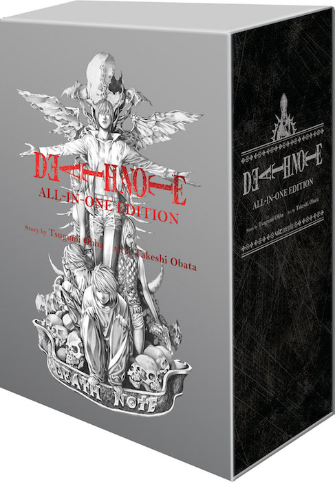 DEATH NOTE SLIPCASE  ALL IN ONE EDITION