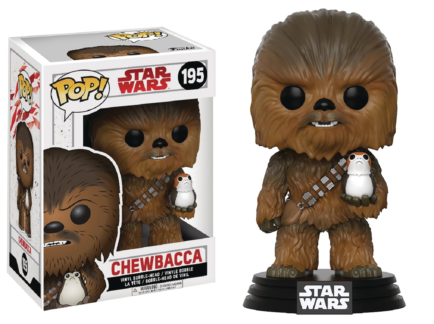 POP STAR WARS E8 CHEWBACCA
