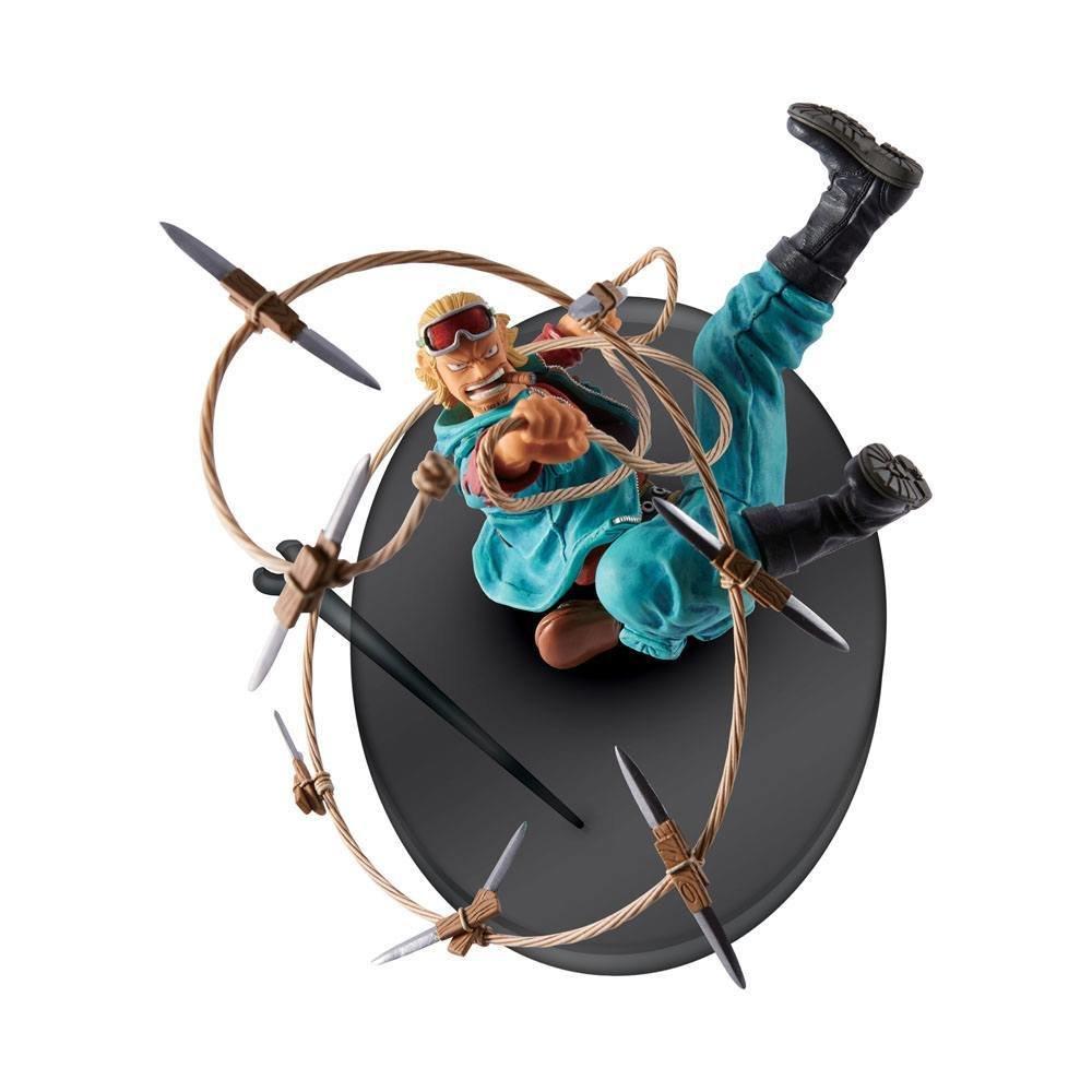 One Piece Scultures Figure Big Zoukeio 4 Pauly 9 cm