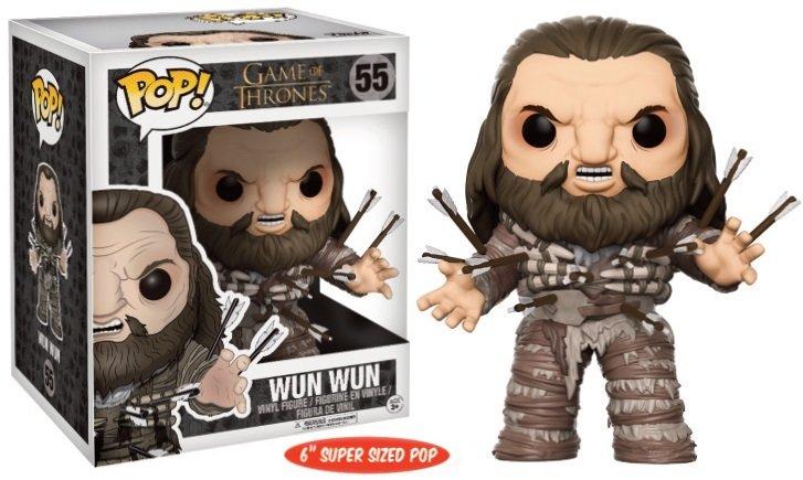 Pop! TV: Game of Thrones - Wun Wun 6 inch Oversized Pop