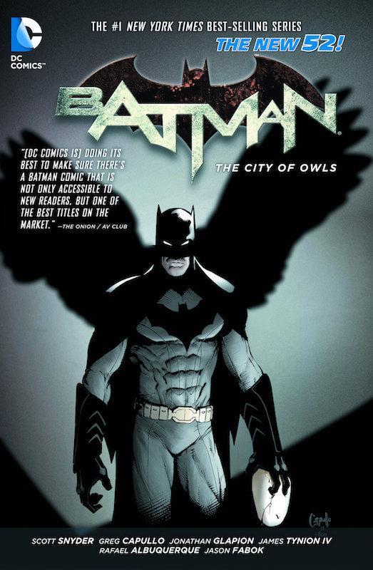 BATMAN TP VOL 02 THE CITY OF OWLS