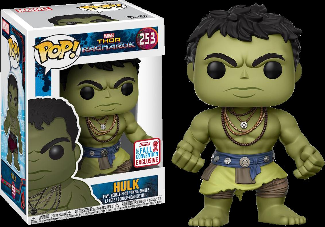 Thor 3: Ragnarok - Casual Hulk Pop! Vinyl Figure (2017 Fall Convention Exclusive)