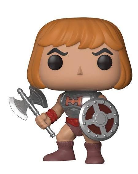 Pop Masters of The Universe He-Man W/Battle Armor
