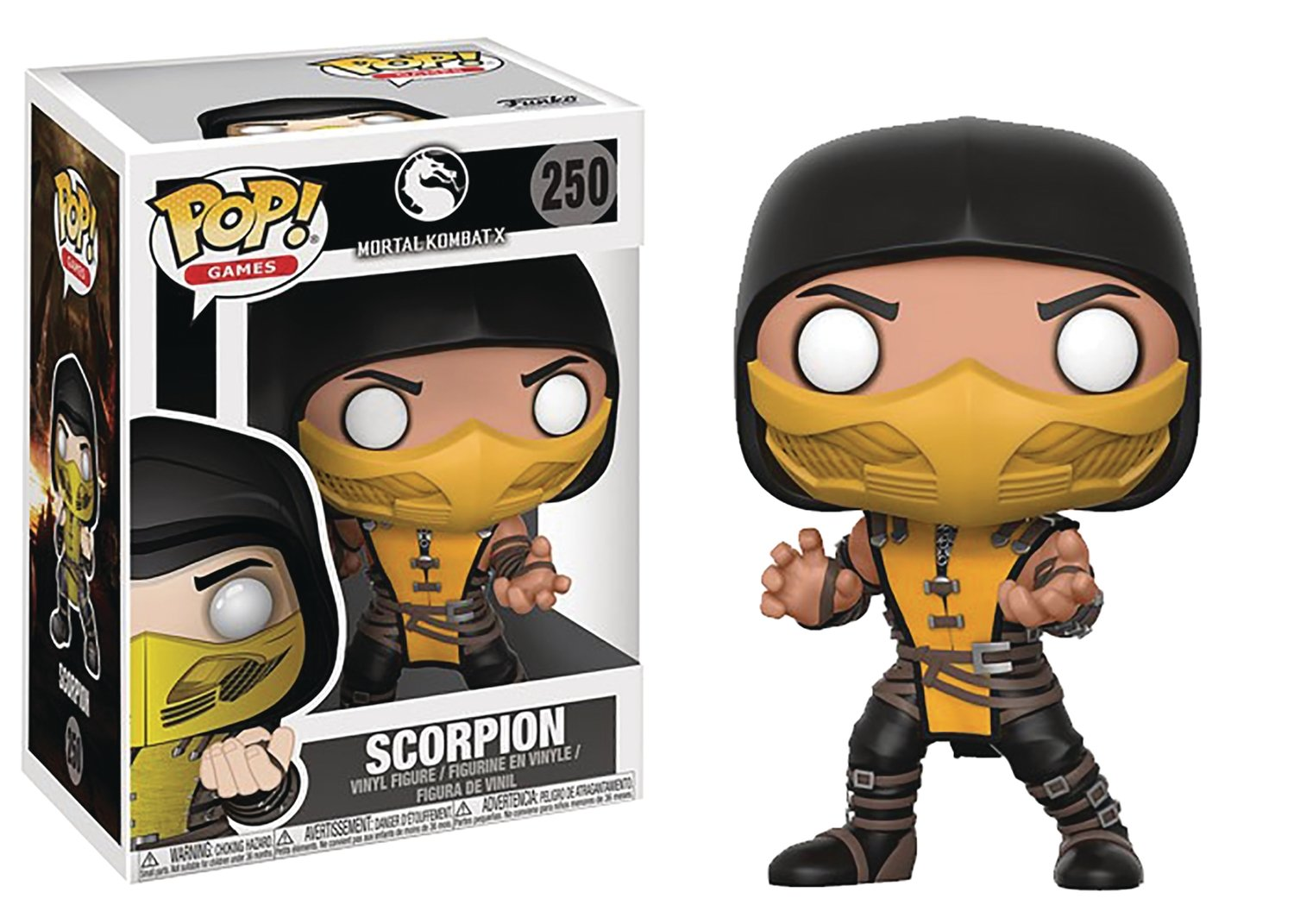 POP MORTAL KOMBAT SCORPION VINYL FIGURE