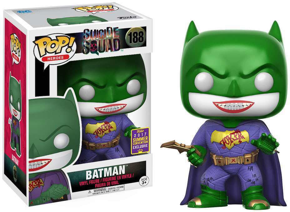 Suicide Squad Funko POP! Movies Joker Batman Exclusive Vinyl Figure #188
