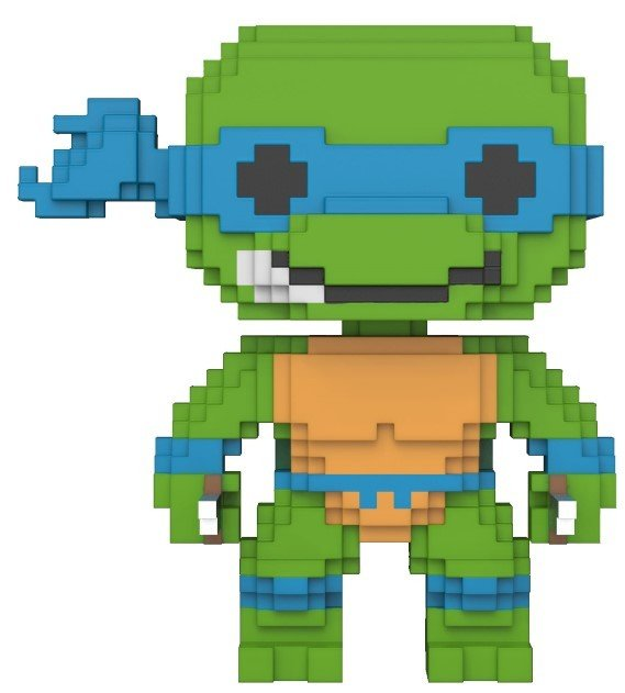 Pop! Cartoons: Teenage Mutant Ninja Turtles - 8-bit Leonardo