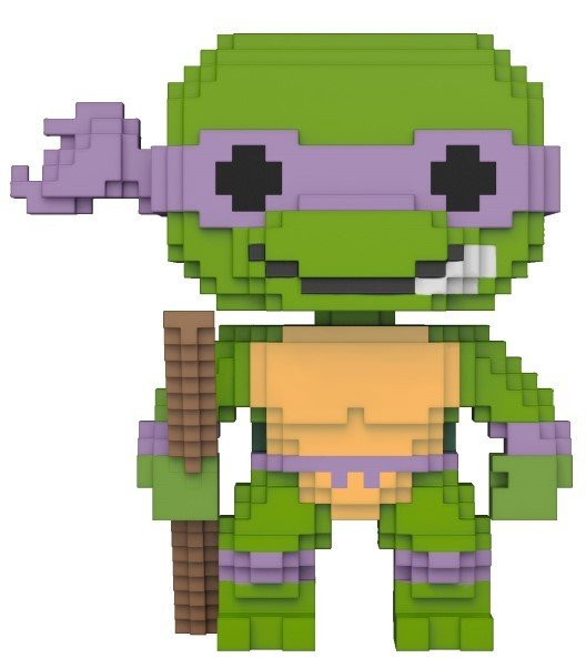 Pop! Cartoons: Teenage Mutant Ninja Turtles - 8-bit Donatello