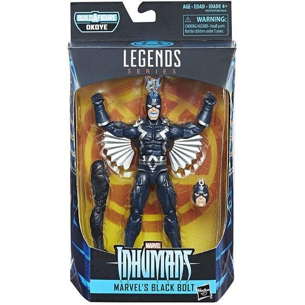 Black Panther: Marvel Legends Action Figure: Wave 1: Black Bolt