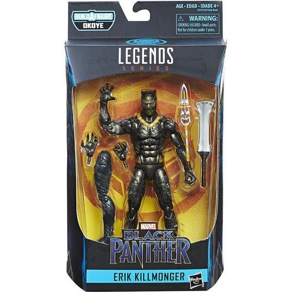 Black Panther: Marvel Legends Action Figure: Wave 1: Erik Killmonger